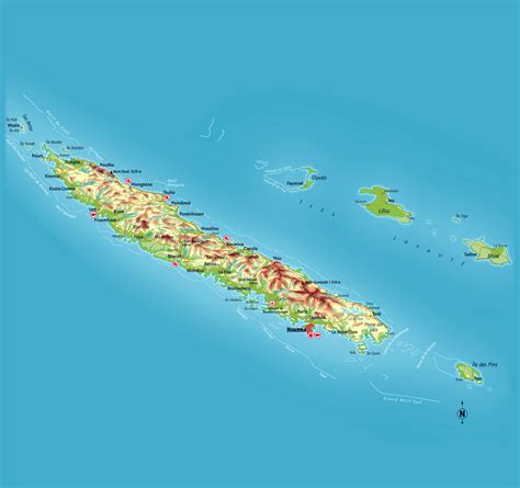 map of new caledonia and australia maps of new caledonia map library maps of the world