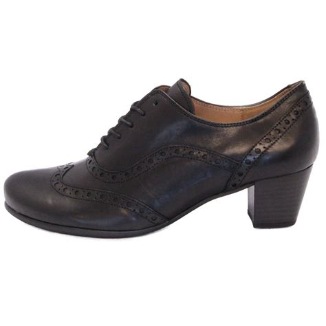 high cut shoes for gabor shoes denver high cut shoe in black mozimo
