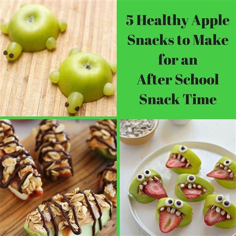 7 Safe Ideas For School Snack Time by 5 Healthy Apple Snacks To Make For An After School Snack
