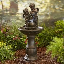Patio Fountains Garden Oasis Cherubs Limited Availability