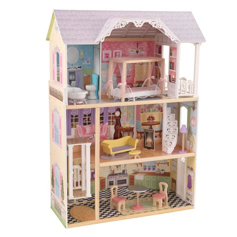 dolls house for kids kaylee dolls house with furniture for children in s a