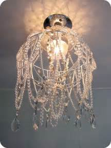 Diy Pearl Chandelier Diy Chandelier Made Using A Hanging Basket Vintage Necklaces Pearls Glass And Glass
