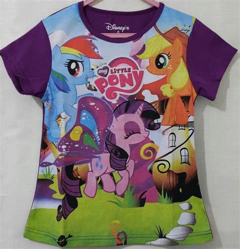 Kaos Karakter Anak Pony Abu my pony ungu 7t 10t page title grosir kaos anak karakter branded murah bandung