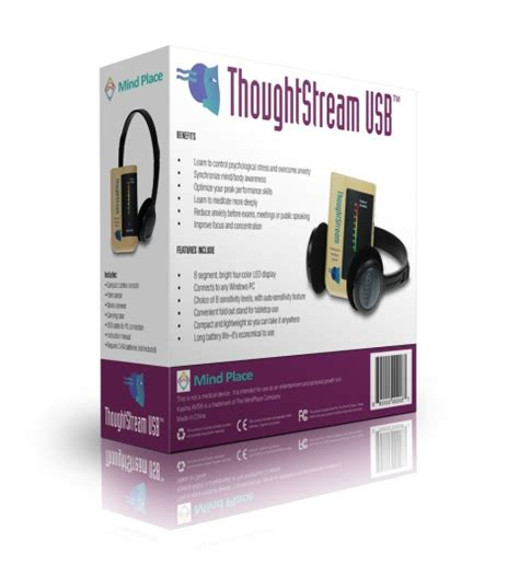 thoughtstream biofeedback machine gsr biofeedback