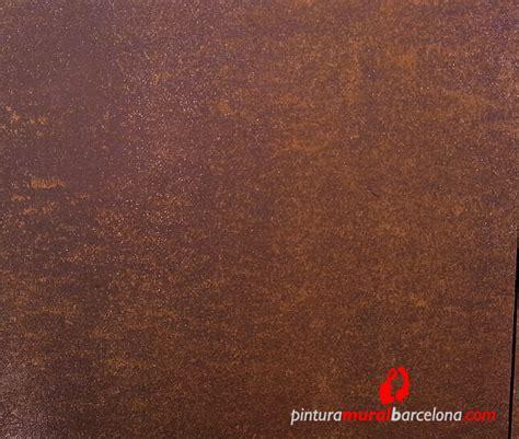 acer corten imitaci 211 n acero corten oxidado pintura mural barcelona