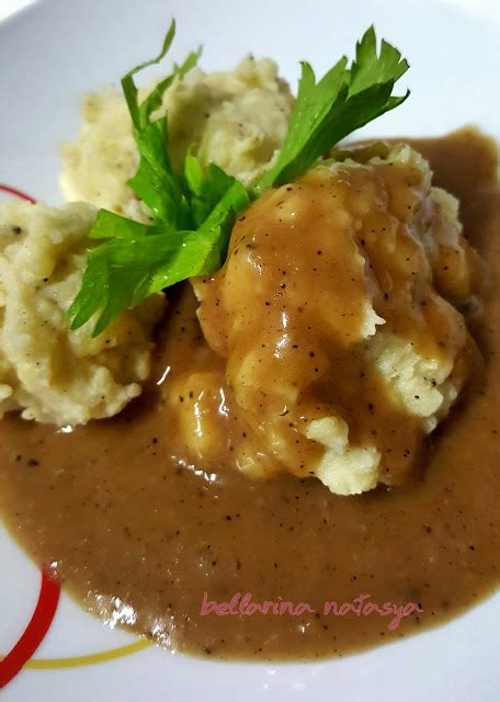 resepi kentang putar homemade mashed potato