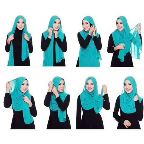 tutorial pashmina selendang 34 tutorial mudah pemakaian tudung shawl dan selendang