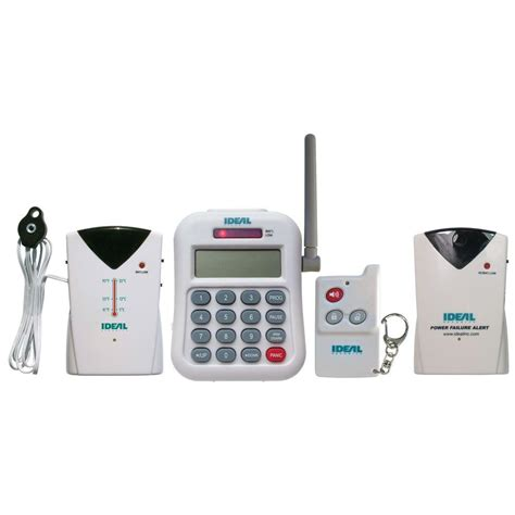 ideal security wireless home temperature and power failure
