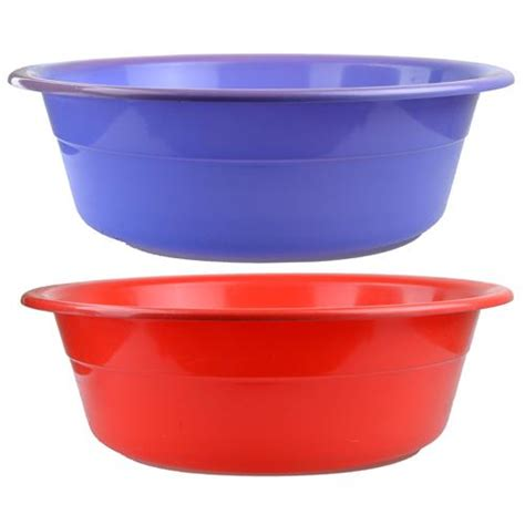 wash tub wholesale bowl wash tub jumbo plastic 15 quot quot quot quot assorted colo glw