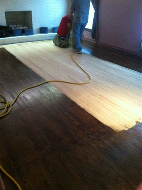 dustless sanding  restaining traditional hardwood flooring charlotte  fox brothers