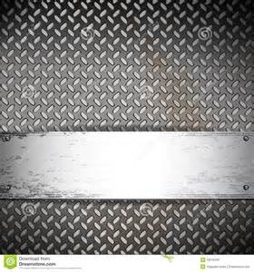 industrial background with a metallic banner stock images