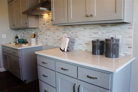 backsplash ideas for gray cabinets a mini tour of the ranch at w6718 prescott drive in