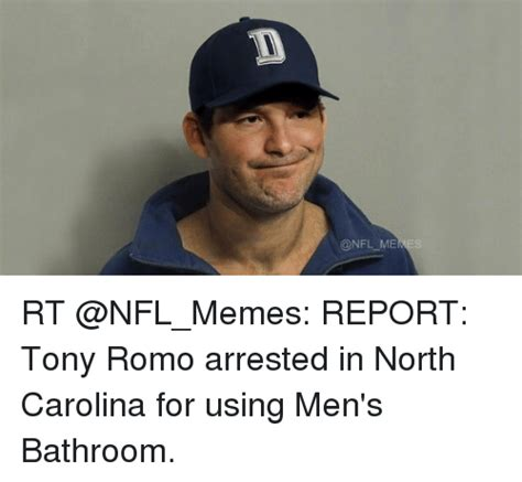 Tony Romo Memes - memes rt report tony romo arrested in north carolina for