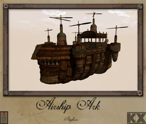 ark forge on boat steunk ark skybox kx forge