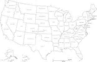 usa map outline with state names usa map outline vector clipart best