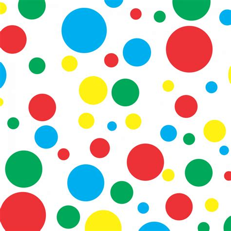 sesame primary colors free vector polka dots free vector 6648 my