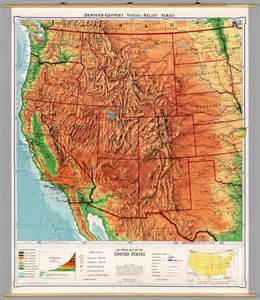 best photos of map of western united states highways