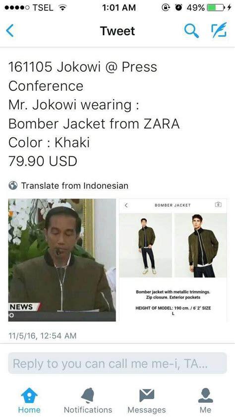 Harga Jaket Bomber Merk Zara saat netizen ramai ramai komentari jaket bomber zara