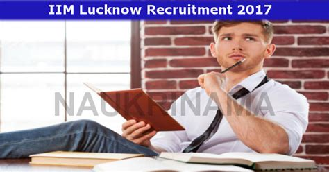 Internship For Mba Students In Lucknow by Iim Lucknow Consulting Managing Editor 2017