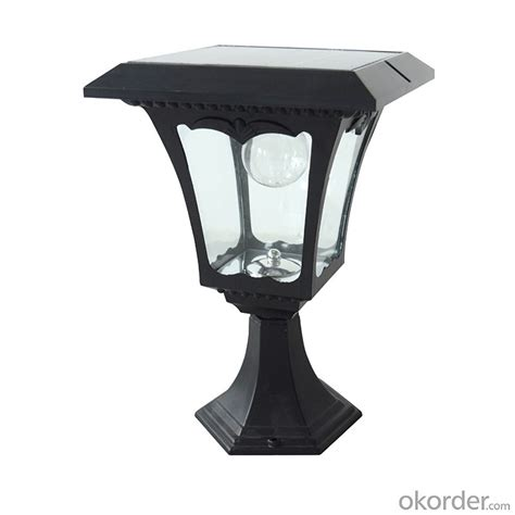 solar column lights buy led solar post lantern solar column light solar fence