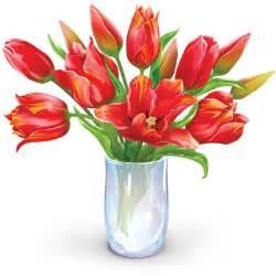 vase of flowers clip flower bouquet clipart dozen