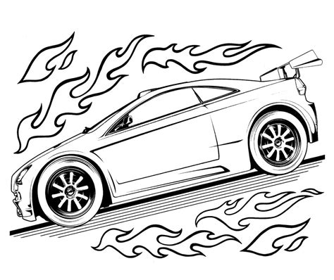 hot wheels race track coloring pages hot wheels cars coloring pages free printable hot wheels