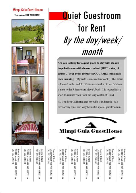 pictures of apartment flyer templates free fantastic flyers picture