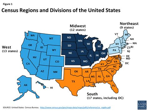 a map of the united states regions midwest america population map
