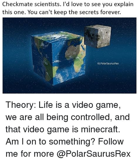 The Theory Of The Secret Slutas We All T by 25 Best Memes About Minecraft Minecraft Memes