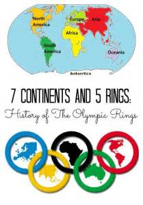 what are the five colors of the olympic rings olympic free printable and continents on