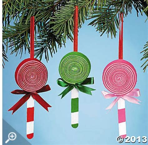 lollypop stick pictures xmas lollipop ornament craft make these sweet crafts