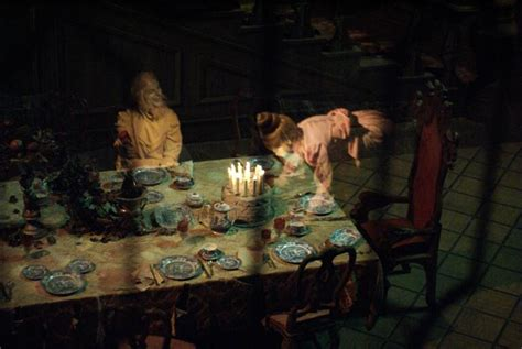 the haunted mansion dining room table wdwmagic