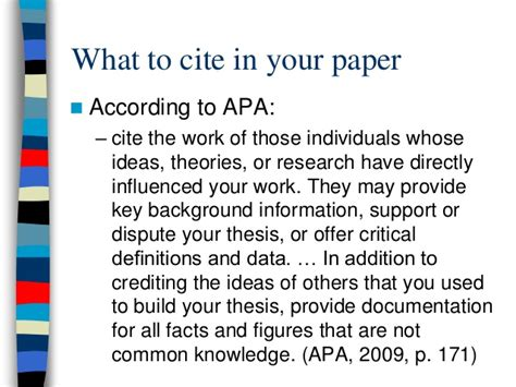 apa format common knowledge avoiding plagiarism