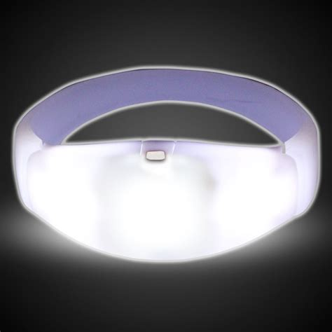 Lu Led Beat sound activated white led stretchy bangle bracelets