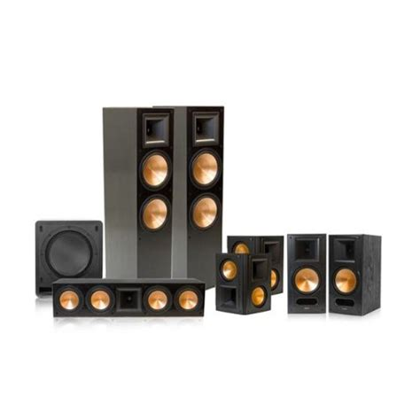 review klipsch rf 7 ii reference series 7 1 home