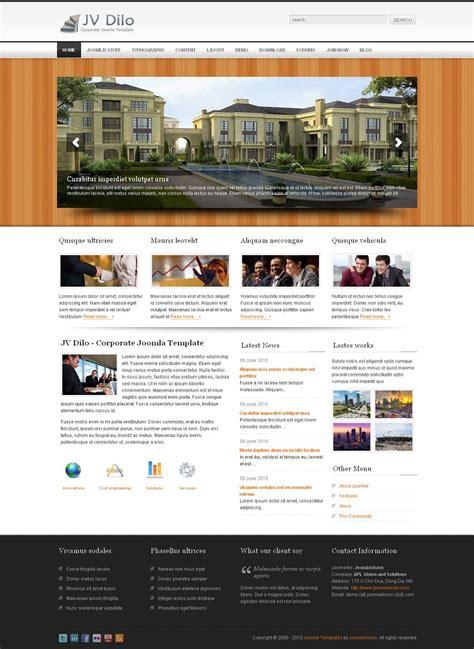 Jv Dilo Corporate Joomla Template Joomla Business Theme Joomvision Joomla Template Developer