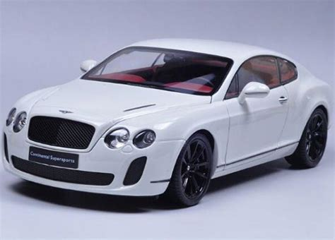 bentley white and black 1 18 scale white orange gray bentley continental gt