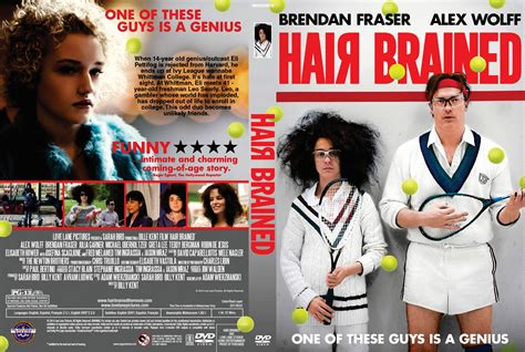 Hair Brained Download   hairbrained dvd cover 2013 r1 custom art