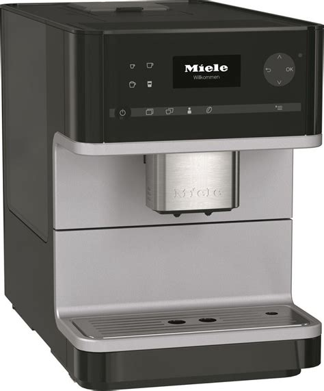 Miele Plumbed Coffee Maker by Cm 6110 Bl Miele Coffee Maker With Grinder Black Make