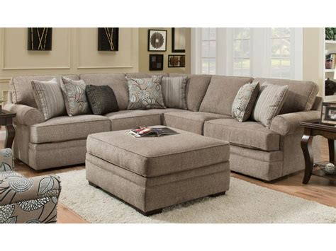 Beautyrest Macy Pewter Sectional   My Furniture Place