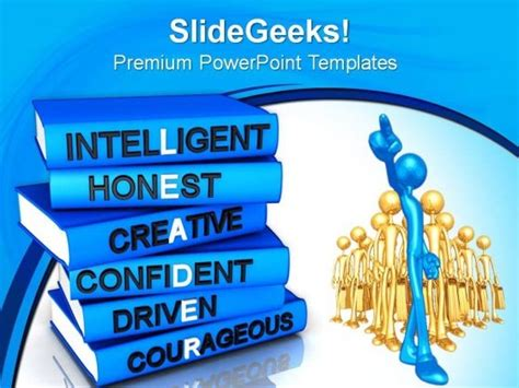 Powerpoint Templates For Leadership Qualities | leadership qualities driverlayer search engine