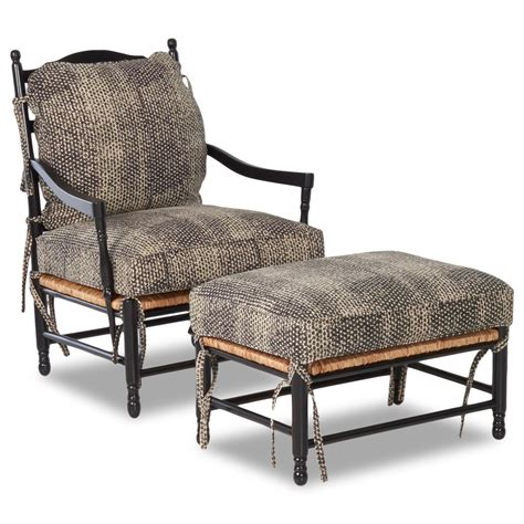 accent chair and ottoman set klaussner chairs and accents homespun accent chair and