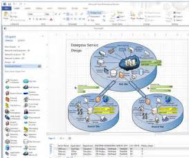 visio network diagram template microsoft visio network diagramming software review