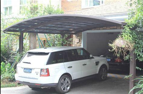 metal car awning aluminum protective car shelter metal car canopy