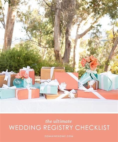 your definitive guide to the wedding registry