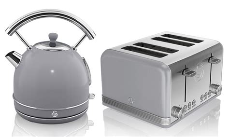kitchen appliances deal swan kettle and two slice toaster