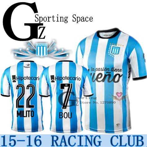 2016 argentina racing club de avellaneda 2015 jersey de
