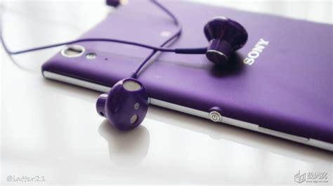 Earphone Sony Sth30 sony sth30 stereo headset unboxed looks great in purple