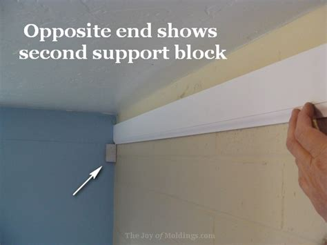 how to install crown molding on top of kitchen cabinets kitchen crown molding installation lower detail the joy