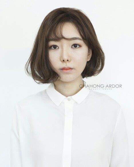 best kpop permed hairstyle korean wave cushion perm hair style wave cut straight